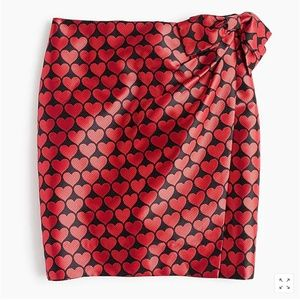 21a5c5de5db ... J.Crew Wrap skirt in jacquard hearts-H2856 H2858 ...